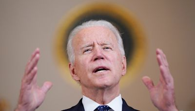 The 'gaffe machine' gets a tuneup: Joe Biden stays surprisingly on message as president