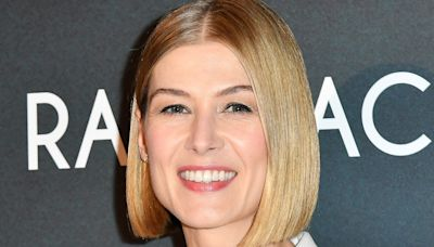 Rosamund Pike says movie posters have been edited to make her chest look bigger without her prior consent