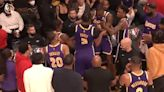 NBA/開季就內鬨?湖人戴維斯霍華德場邊爆衝突