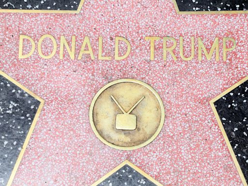 A Democrat voter placed his dog's poop on Donald Trump's Hollywood Walk of Fame star, report says