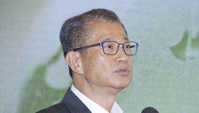 未來5年料發行1775億元綠債 陳茂波:部分或以零售方式讓公眾參與