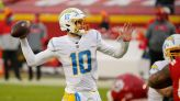 Herbert sets rookie passing records as Chargers dump Chiefs