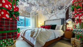 This Over-the-top 'Elf'-themed Hotel Suite in NYC Has All of Buddy's Favorite Things, Including Spaghetti with Syrup