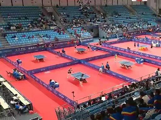 全運乒乓球賽雲集15位世界冠軍 港男女團首戰失利