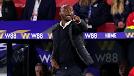 Patrick Vieira pleased with Palace progress despite lack of victories