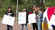 MSU students, community engage in protest over mask mandate