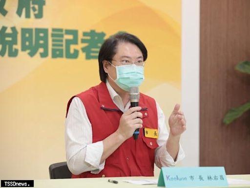 不滿台北市長甩鍋 林右昌:輕忽市場防疫重要性