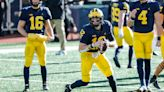 Michigan QB Cade McNamara returns after suffering right shoulder injury vs. Penn State