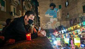 Napoli pays tribute to Maradona, 'captain of the angels'