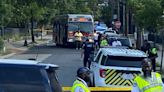 Police: Man hit by Metro bus in Southeast, DC in critical condition