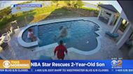 Caught On Video: Andre Drummond Rescues Toddler Who Fell In Pool