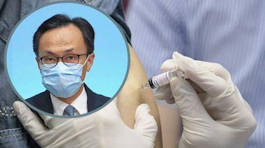 聶德權指單日增5.4萬劑疫苗接種再創新高