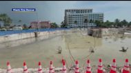 WEB EXTRA: Surfside Condo Collapse Site Nearly One Month Later