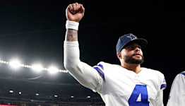 Hold your breath, Dallas Cowboys fans. Dak Prescott injured calf on game-winning play