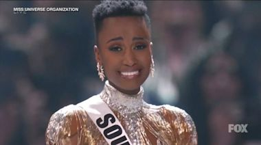 Miss South Africa wins Miss Universe 2019