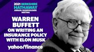 Buffett on writing an insurance policy with Elon Musk