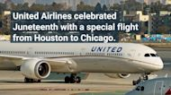 United Airlines Honors Juneteenth With an All-Black Crew on a Flight From Houston to Chicago