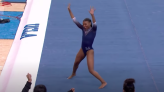 'Black excellence': Gymnast Nia Dennis blesses the internet with another stunning floor routine