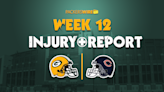 What to know from Packers' lengthy first injury report of Week12