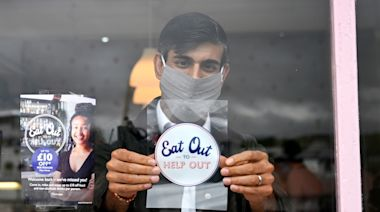 Inflation rises as Rishi Sunak's Eat Out to Help Out scheme ends