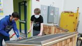 Housing for hounds: KHS class project to benefit animal shelter