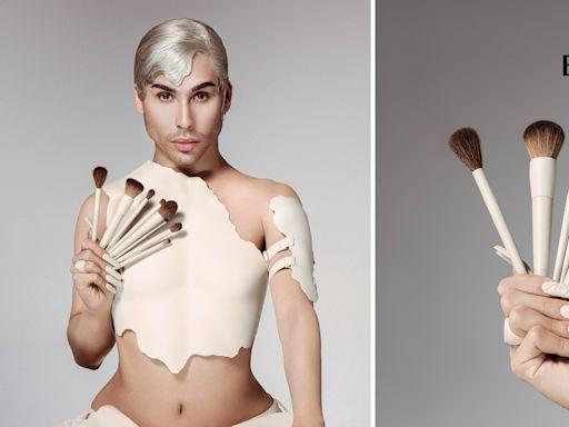 Kylie Jenner's Makeup Artist Ariel Tejada Designed a Line of Affordable Makeup Brushes