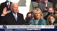 WATCH: Joe Biden is sworn in as President of the United States