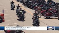 98th Annual Laconia Motorcycle Week kicks off with big crowds