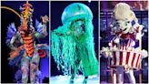 'The Masked Singer' Reveals Identities of Seahorse, Popcorn and Jellyfish: Who's Under the Masks