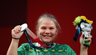 Turkmenistan wins first ever Olympic medal as Polina Guryeva takes home silver in weightlifting