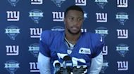 Saquon Barkley focused on 'getting in football shape' | Giants News Conference