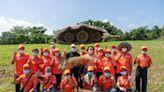 林舜龍打造《豆莢幽浮》 降落宜蘭傳藝園區