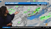New York Weather: Unsettled Day