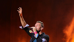 Coldplay debut BTS collab 'My Universe,' honor James Brown at joyous New York concert