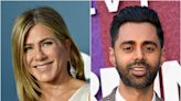 Hasan Minhaj thought Jennifer Aniston didn't like him when they worked together on 'The Morning Show'