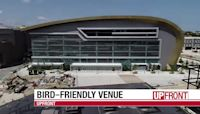 Bucks arena leads with bird-safe design