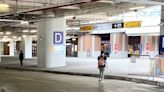 台中火車站前轉運站民眾跨越車道 議員批動線不良