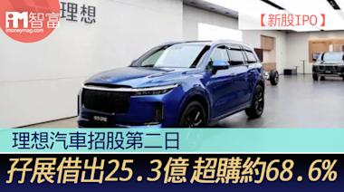 【新股IPO】理想汽車2015招股第二日 孖展借出25.3億 超購約68.6% - 香港經濟日報 - 即時新聞頻道 - iMoney智富 - 股樓投資