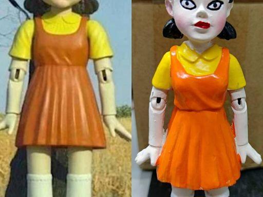 網購《魷魚遊戲》木頭人娃娃「超驚嚇」 全網傻眼:比原版驚悚