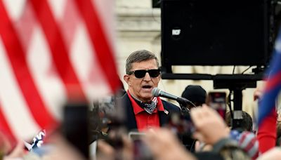 US should have coup like Myanmar, former Trump advisor Michael Flynn tells QAnon conference in Texas