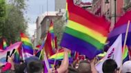 Mexico City awash in colour for Pride march