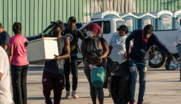 Haitian migrants on the move weigh jobs in Mexico after clearout