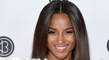 Ciara Just Debuted Icy Blue Hair for Winter