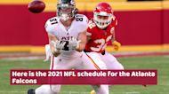 Atlanta Falcons 2021 NFL schedule