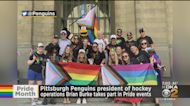 Pittsburgh Penguins President Of Hockey Operations Brian Burke Takes Part In Pride Events