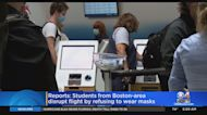 Reports: Students From Boston-Area Disrupt Flight By Refusing To Wear Masks