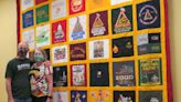 Quilt pays tribute to local running legend