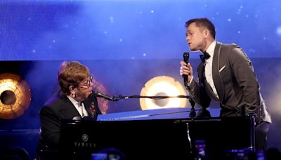 Elton John and Taron Egerton Sing Together After the Cannes Film Festival Premiere of Rocketman