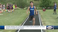 New state triple jump record set by Concord Christian Academy junior