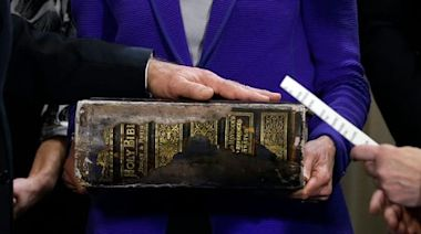 Biden inauguration: The story behind the new president's massive Bible